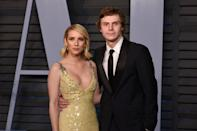 """Emma Roberts and Evan Peters broke up in March, ending their engagement and relationship of seven years. At the time, <em><a href=""""https://www.usmagazine.com/celebrity-news/news/emma-roberts-splits-from-evan-peters-dating-garrett-hedlund/"""" rel=""""nofollow noopener"""" target=""""_blank"""" data-ylk=""""slk:Us Weekly"""" class=""""link rapid-noclick-resp"""">Us Weekly</a></em> reported the <em>American Horror Story</em> costars intend to remain friends and that it """"wasn't a bad breakup."""""""