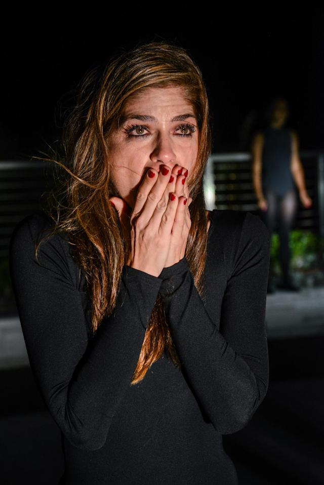 Selma Blair performs in a piece by Tara Subkoff at Art Basel Miami. Blair accused director James Toback of sexual harassment, and said she feared he would kill her if she ever referred to it publicly. (Photo: Getty Images)