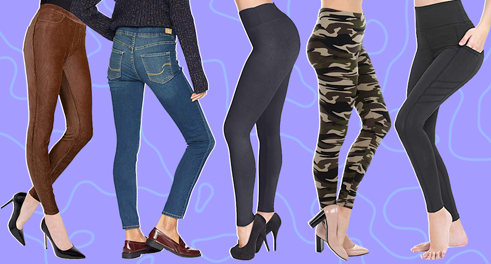 These leggings from Amazon are worth it, trust us. (Photo: Amazon)