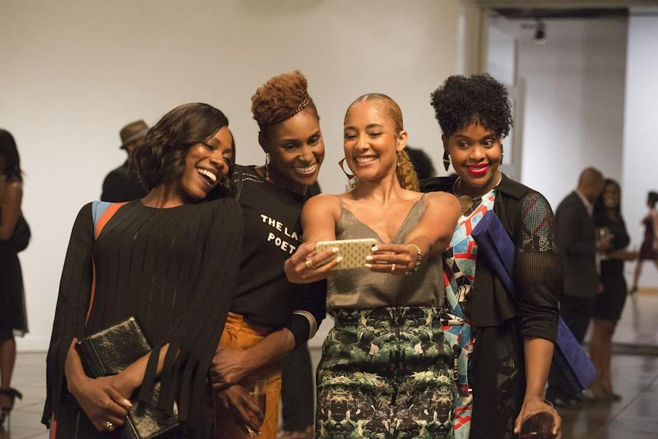 <p>Issa Rae co-created this HBO comedy based on her web series, <em>Awkward Black Girl</em>. The show follows the black female experience through the eyes of Issa and her best friend, Molly (Yvonne Orji). The duo and their circle of friends deal with career and relationship ups and downs while living in Los Angeles. </p>