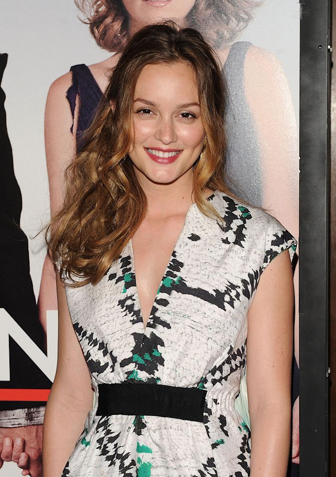 """<a href=""""http://movies.yahoo.com/movie/contributor/1807650409"""">Leighton Meester</a> at the New York City premiere of <a href=""""http://movies.yahoo.com/movie/1810080154/info"""">Date Night</a> - 04/06/2010"""