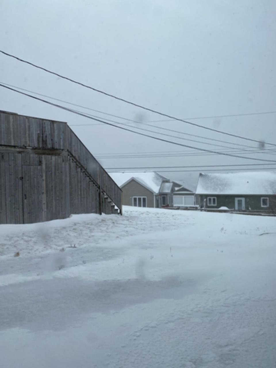 Blowing snow, howling winds create hazardous travel in Newfoundland