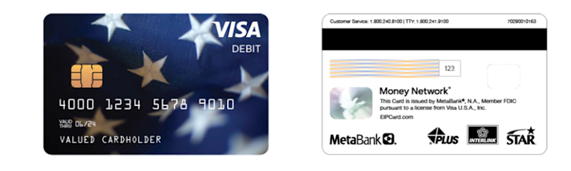 A Visa Debit card, like the one pictured, is being issued to 4 million people who have yet to receive stimulus money, or Economic Impact Payments. Consumers are being told that the cards are not a scam.