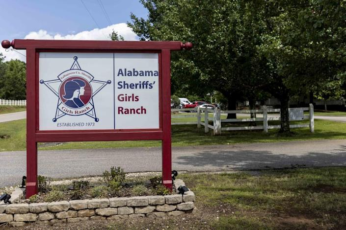 This photo taken Sunday, June 20, 2021, shows the Alabama Sheriff's Girls Ranch in Camp Hill, Ala., which suffered a loss of life when their van was involved in a multiple vehicle accident Saturday, June 19, 2021, resulting in eight people in the van perishing. (AP Photo/Vasha Hunt)