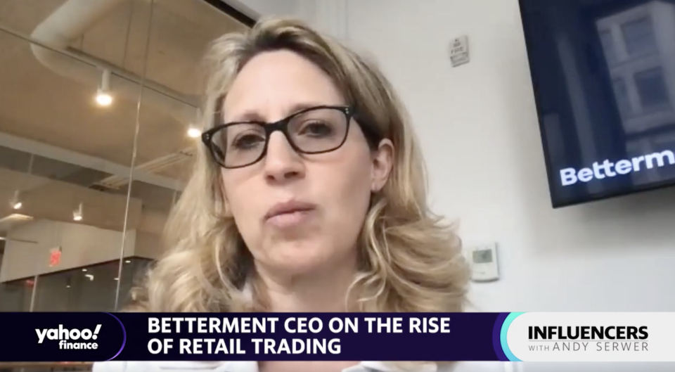 Betterment CEO Sarah Levy speaks with Yahoo Finance Editor-in-Chief Andy Serwer on