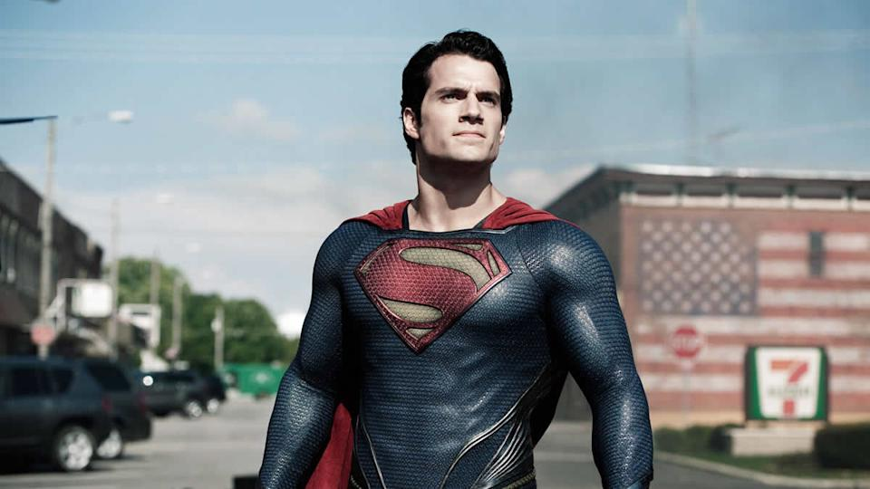Henry Cavill made his debut appearance as Superman in 'Man of Steel'. (Warner Bros)