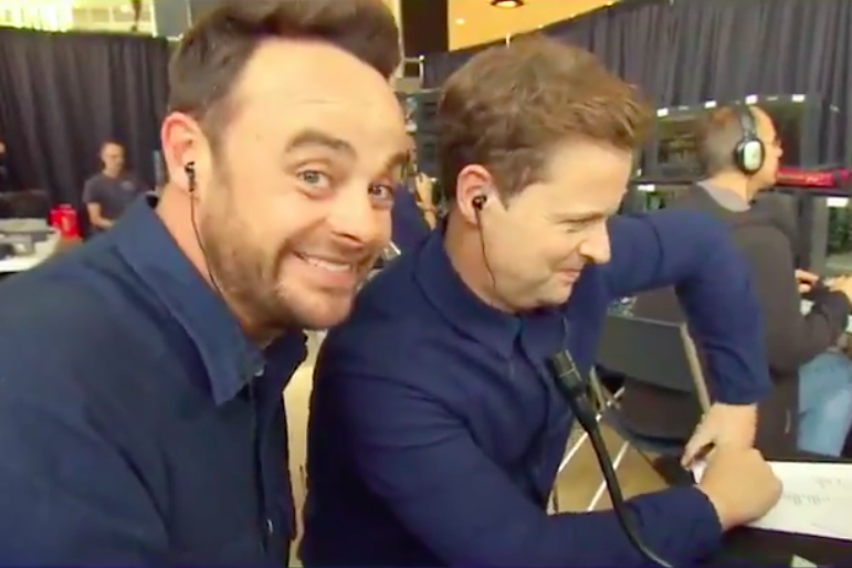 Ant and Dec pranking Dermot O'Leary on Saturday Night Takeaway: ITV