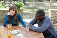 """<p><a class=""""link rapid-noclick-resp"""" href=""""https://www.amazon.com/Get-Out-Daniel-Kaluuya/dp/B06Y1H48K7/?tag=syn-yahoo-20&ascsubtag=%5Bartid%7C10058.g.2509%5Bsrc%7Cyahoo-us"""" rel=""""nofollow noopener"""" target=""""_blank"""" data-ylk=""""slk:watch"""">watch</a><br></p><p>It's not often that a movie so perfectly taps into the spirit of the times, but in a year where Trump's presidency has sparked tense discussions about <a href=""""https://www.marieclaire.com/culture/a21423/roxane-gay-philando-castile-alton-sterling/"""" rel=""""nofollow noopener"""" target=""""_blank"""" data-ylk=""""slk:police brutality"""" class=""""link rapid-noclick-resp"""">police brutality</a>, race, and false liberalism, this was the breakout movie that did the job—in the horror genre, no less. Director Jordan Peele turns the typical horror script on its head with this blend of cultural criticism and horror tropes. </p>"""