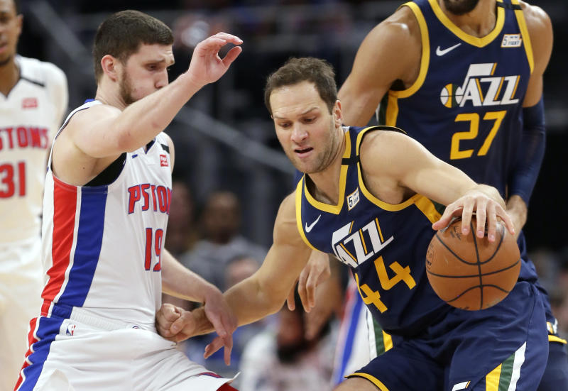 Jazz Bojan Bogdanovic Surgery Basketball