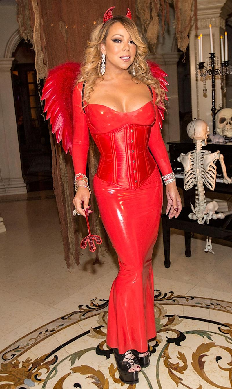 last minute halloween costume ideas from mariah carey tara reid ashley tisdale and more - Ashley Tisdale Halloween