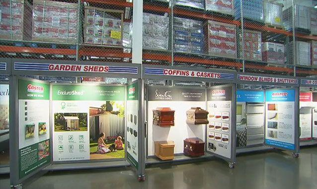 To die for: Cut-price coffins on offer for Aussie bargain