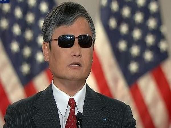 Attorney and human rights activist Chen Guangcheng