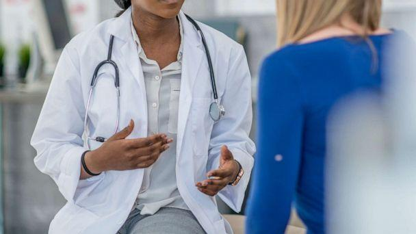 PHOTO: A doctor talks to her patient in this undated stock image. (Fatcamera/Getty Images)