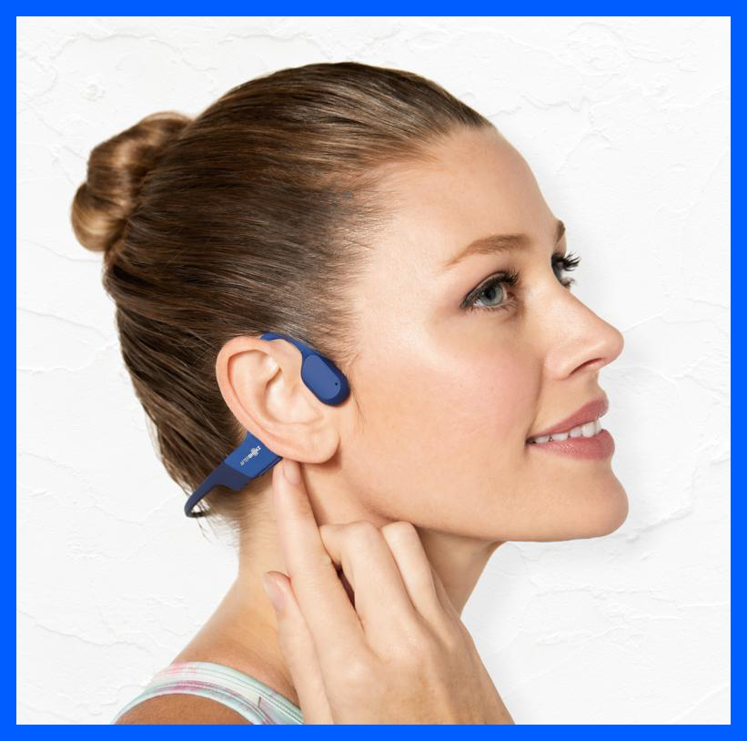 Get these AfterShokz Aeropex Wireless Bone-Conduction Headphones on sale for just $140, or $130 off. (Photo: QVC)