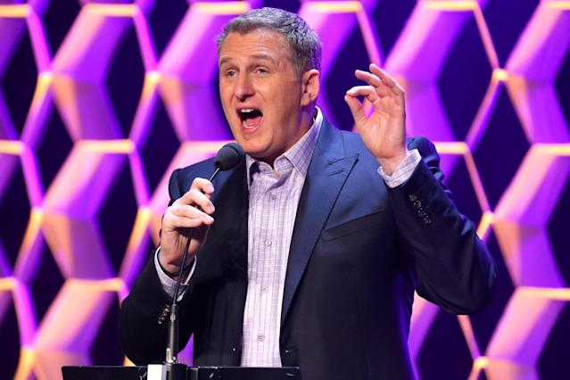 Under fire: Michael Rapaport has faced a backlash after tweeting about Ariana Grande (Jemal Countess/Getty)
