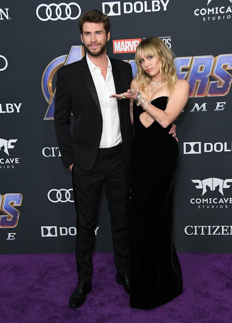 Newlyweds: Miley Cyrus and Liam Hemsworth (Birdie Thompson/AdMedia / SplashNews.com)