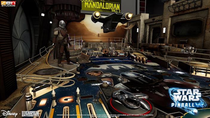 Finally, pinball has gone VR. Don a headset and load up Zen Studios' Star Wars Pinball VR ($24.99), which offers eight tables from various perspectives, minigames and other features.