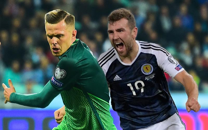 Scotland are chasing their second win of the qualifying stage at home to Slovenia - AFP or licensors