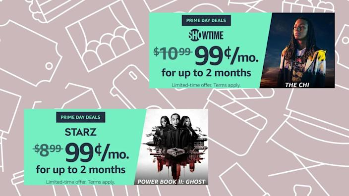 Thanks to Amazon Prime Day 2021, you can take your pick of Prime Video add-on channels for only $.99 for two months.