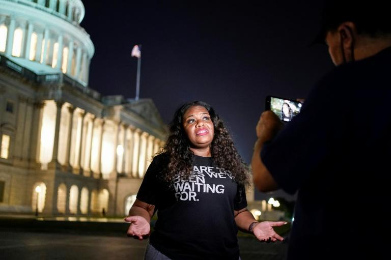 Congresswoman Cori Bush spent the night outside the US Capitol to call for an extension of a federal eviction moratorium