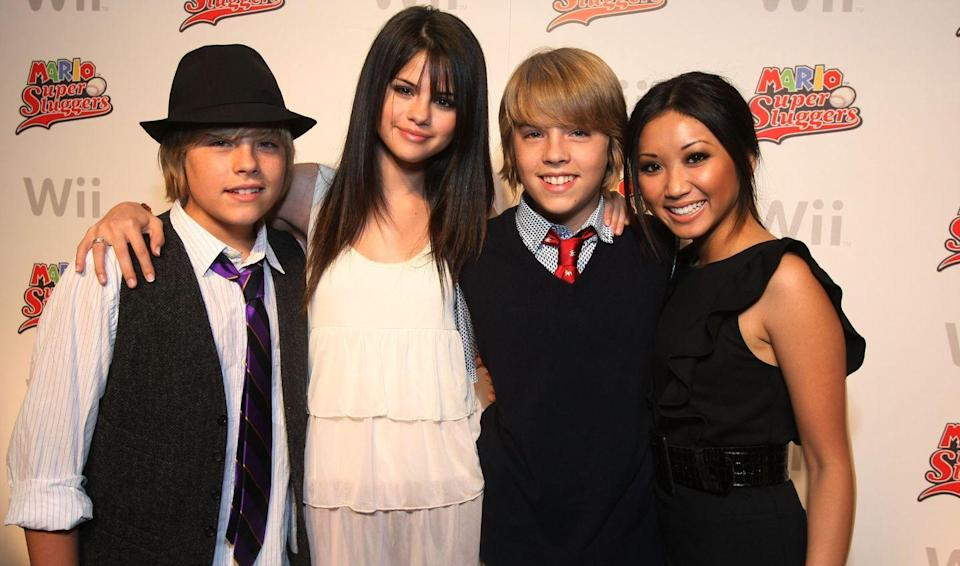 "<p>In her early days as a Disney darling, Selena Gomez made a guest appearance on <em>The Suite Life of Zack & Cody</em>, where she shared a not-so-suite lip lock with Dylan Sprouse. ""I actually leaned in to kiss him and I had my eyes closed a little too early and I ended up missing, like, half of his lips,"" she said in an interview with <a href=""https://www.youtube.com/watch?v=wW6DlI5iXtc"" rel=""nofollow noopener"" target=""_blank"" data-ylk=""slk:Tiger Beat"" class=""link rapid-noclick-resp""><em>Tiger Beat</em></a> (RIP.) ""It ended up being the most awkward kiss in the world.""</p>"