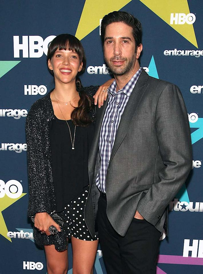 """Best known for his role on """"Friends,"""" 45-year-old actor David Schwimmer took on a new role this year -- dad -- when his wife Zoe Buckman, 25, gave birth to daughter Cleo Buckman on May 8."""