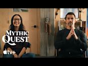 """<p>Rob McElhenney's <em>Mythic Quest</em> exists at the absolute perfect intersection of full-of-shit and sincere. Set at a company who produces the largest multiplayer video game in history, the story follows the team behind the game and all their hilarious hijinks. But what makes the show sparkle is when it shines a bit of humanity onto its absurd nature—the pandemic episode is one of the rare exceptions that captures the heartbreak and isolation of what 2020 felt like.<em>—<em>Justin Kirkland</em></em></p><p><a class=""""link rapid-noclick-resp"""" href=""""https://go.redirectingat.com?id=74968X1596630&url=https%3A%2F%2Ftv.apple.com%2Fus%2Fepisode%2Fpilot%2Fumc.cmc.4nophqr1ztliqnbyeh0i7nnn2%3Faction%3Dplay&sref=https%3A%2F%2Fwww.redbookmag.com%2Flife%2Fg36916425%2Fbest-apple-tv-plus-shows%2F"""" rel=""""nofollow noopener"""" target=""""_blank"""" data-ylk=""""slk:Watch Now"""">Watch Now</a></p><p><a href=""""https://www.youtube.com/watch?v=vHVknNT_Bmw"""" rel=""""nofollow noopener"""" target=""""_blank"""" data-ylk=""""slk:See the original post on Youtube"""" class=""""link rapid-noclick-resp"""">See the original post on Youtube</a></p>"""