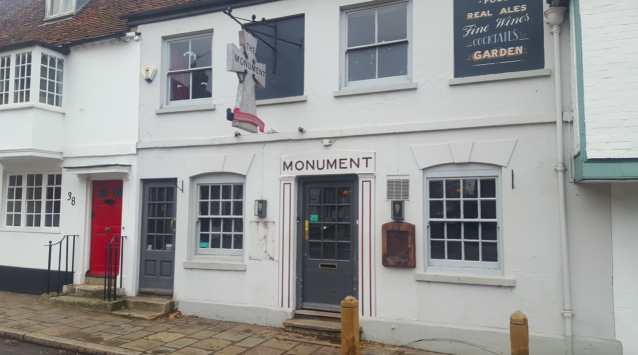 The Monument in Cambridge has closed down from a lack of business (SWNS)