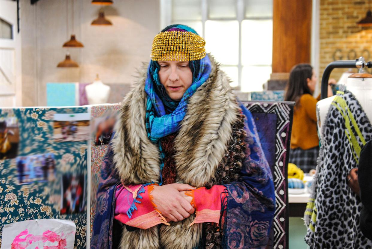 Joe Lycett presents The Great British Sewing Bee S7. (BBC/Love Productions)