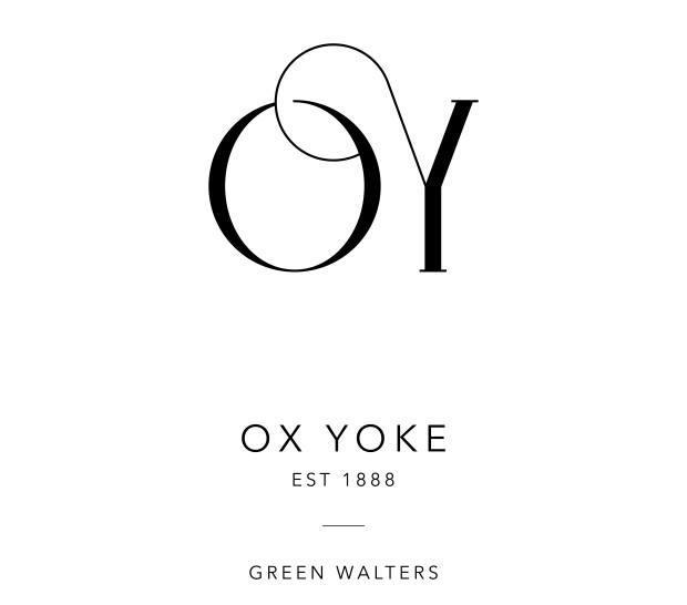 Tosin Odugbemi designed this contemporary reimagining of what Green Walter's Ox Yoke 'brand' might look like in modern setting.