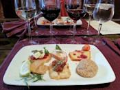 """<p><a href=""""https://foursquare.com/v/lynfred-winery/4b086437f964a520c90a23e3"""" rel=""""nofollow noopener"""" target=""""_blank"""" data-ylk=""""slk:Lynfred Winery"""" class=""""link rapid-noclick-resp"""">Lynfred Winery</a> in Roselle</p><p>""""Take a <span class=""""entity tip_taste_match"""">tour</span> of the oldest and largest <span class=""""entity tip_taste_match"""">winery</span> in the state of Illinois, and while you're at it, get the premium <span class=""""entity tip_taste_match"""">wine</span> sampler and enjoy the scenery.<span class=""""redactor-invisible-space"""">"""" - Foursquare user <a href=""""https://foursquare.com/erikallyn"""" rel=""""nofollow noopener"""" target=""""_blank"""" data-ylk=""""slk:Erik Rowley"""" class=""""link rapid-noclick-resp"""">Erik Rowley</a></span></p>"""