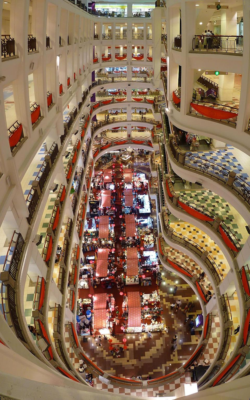 <p><b>14. SM Megamall</b></p> <p> Mandaluyong, Philippines</p> <p>Gross Leasable Area (GLA): 348,056 sqm</p> <p><b>15. Berjaya Times Square (Pictured left)</b></p> <p> Kuala Lumpur, Malaysia</p> <p>Gross Leasable Area (GLA): 320,000 sqm</p> <p>Photo: By Cmglee (Own work) [CC-BY-SA-3.0 (http://creativecommons.org/licenses/by-sa/3.0)], via Wikimedia Commons</p>