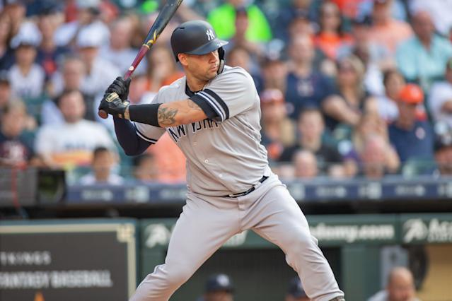 Gary Sánchez becomes the latest Yankee to hit the IL. (Getty Images)