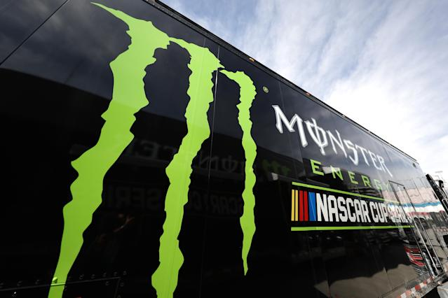 Monster signed a two-year deal with a two-year option to sponsor the Cup Series. (Getty)