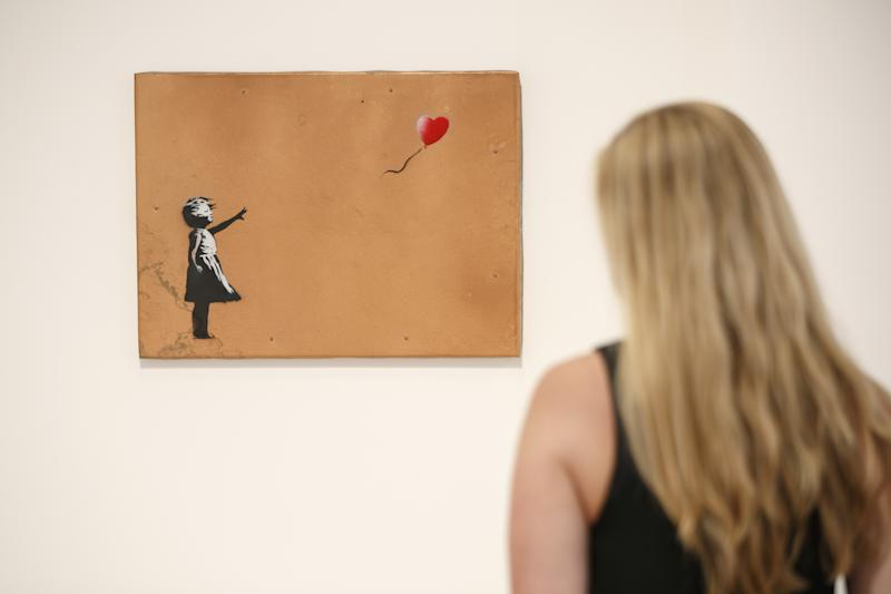 Les secrets de la destruction de sa toile — Banksy