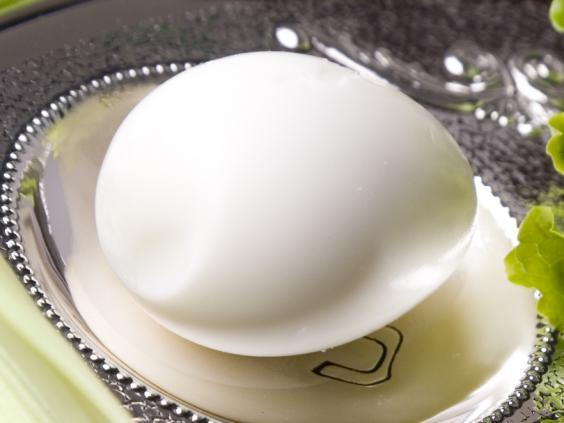 Hard-boiled egg (Getty Images/iStockphoto)