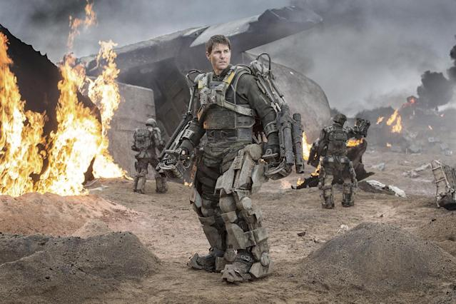 Cruise as Bill Cage in <em>Edge of Tomorrow.</em> (Photo: Everett Collection)