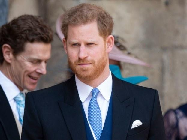Prince Harry Makes A Surprise Appearance At His Cousin's Royal Wedding