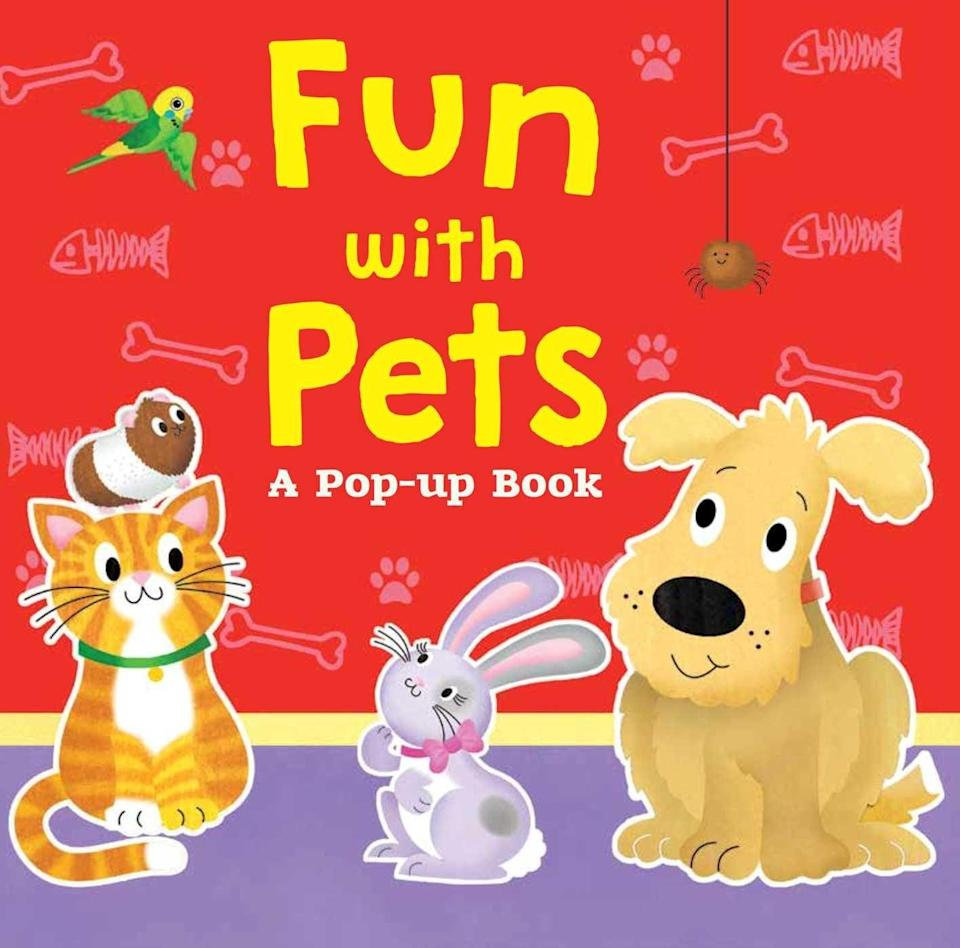 "<p>Join Little Bunny as she tries to find her animal friends in a game of hide-and-seek in <a href=""https://www.popsugar.com/buy/strongFun-Pets-Pop-Up-Bookstrong-104615?p_name=%3Cstrong%3EFun%20With%20Pets%3A%20A%20Pop-Up%20Book%3C%2Fstrong%3E&retailer=amazon.com&pid=104615&evar1=moms%3Aus&evar9=25800161&evar98=https%3A%2F%2Fwww.popsugar.com%2Fphoto-gallery%2F25800161%2Fimage%2F44870073%2FFun-Pets-Pop-Up-Book&list1=gifts%2Camazon%2Choliday%2Ctoys%2Cgift%20guide%2Cparenting%2Ctoddlers%2Cbabies%2Cgifts%20for%20kids%2Clittle%20kids%2Ckid%20shopping%2Choliday%20for%20kids%2Ckid%20books%20and%20music%2Cgifts%20under%20%2450%2Cgifts%20for%20toddlers%2Cbest%20of%202019&prop13=api&pdata=1"" class=""link rapid-noclick-resp"" rel=""nofollow noopener"" target=""_blank"" data-ylk=""slk:Fun With Pets: A Pop-Up Book""><strong>Fun With Pets: A Pop-Up Book</strong></a> ($8).</p>"