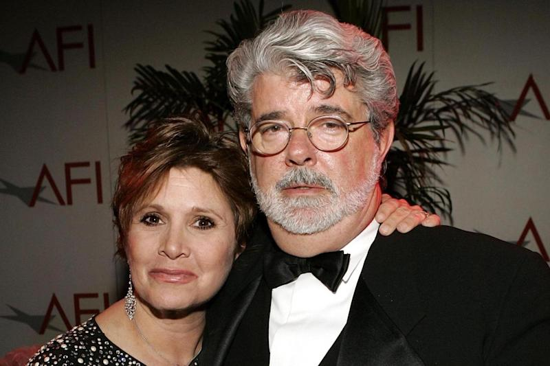 Actress Carrie Fisher died on December 27 last year: Vince Bucci/Getty Images