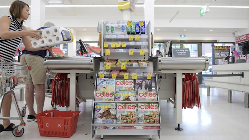 Coles has said it is focusing on providing essentials and may not be able to follow through with advertised products available in store