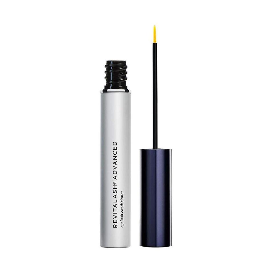 """<p><strong>RevitaLash Cosmetics</strong></p><p>amazon.com</p><p><a href=""""https://www.amazon.com/dp/B005CVGJFM?tag=syn-yahoo-20&ascsubtag=%5Bartid%7C10051.g.36688891%5Bsrc%7Cyahoo-us"""" rel=""""nofollow noopener"""" target=""""_blank"""" data-ylk=""""slk:Shop Now"""" class=""""link rapid-noclick-resp"""">Shop Now</a></p><p><del>$98.00</del> $68.60 <strong>(30% off)</strong></p><p>Give your lashes some TLC with this eyelash conditioner. This serum strengths your lashes and helps them get to their full potential in just a couple of applications. </p>"""