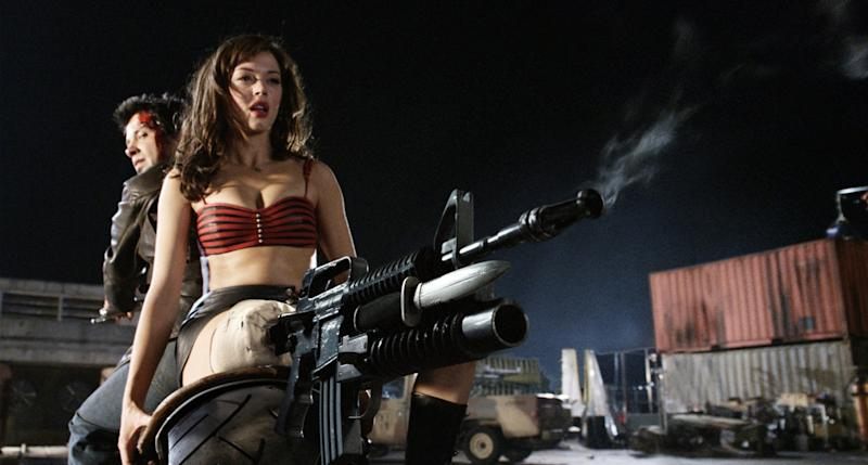 Rose McGowan's Cherry Darling may have shot a bit wide of the mark in 2007. (Credit: Dimension Films/TWC)