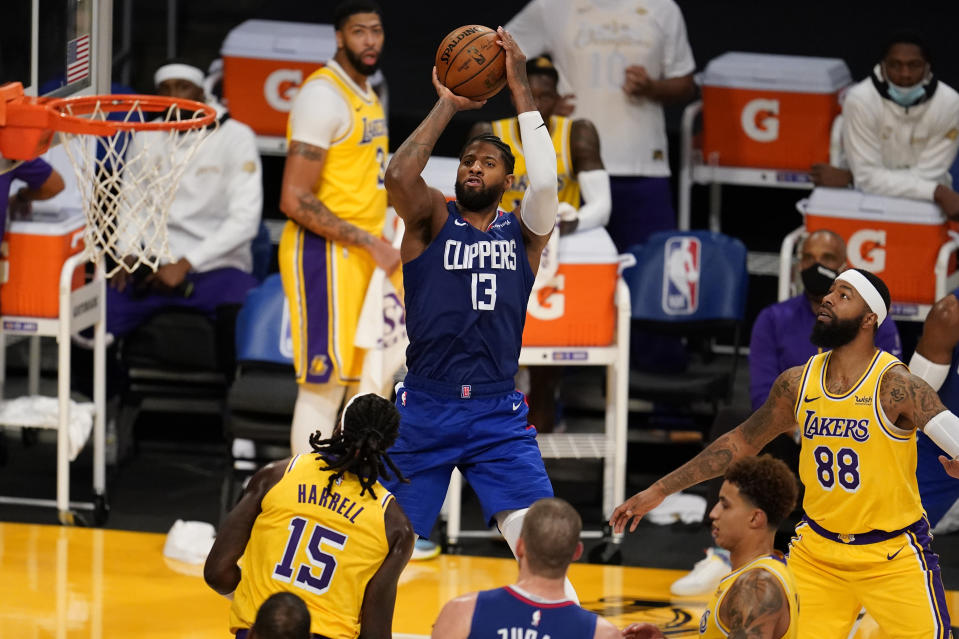Los Angeles Clippers guard Paul George