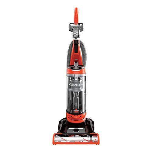 """<p><strong>Bissell</strong></p><p>amazon.com</p><p><strong>$79.99</strong></p><p><a href=""""https://www.amazon.com/dp/B07L69RL4B?tag=syn-yahoo-20&ascsubtag=%5Bartid%7C10055.g.27257424%5Bsrc%7Cyahoo-us"""" rel=""""nofollow noopener"""" target=""""_blank"""" data-ylk=""""slk:Shop Now"""" class=""""link rapid-noclick-resp"""">Shop Now</a></p><p>This inexpensive <a href=""""https://www.goodhousekeeping.com/institute/about-the-institute/a22148/about-good-housekeeping-seal/"""" rel=""""nofollow noopener"""" target=""""_blank"""" data-ylk=""""slk:Good Housekeeping Seal"""" class=""""link rapid-noclick-resp"""">Good Housekeeping Seal</a> holder has <strong>five height settings to clean deep and low pile carpeting and everything in between</strong>. The bagless dust cup empties from the bottom for less mess and the turbo brush attachment works wonders removing pet hair and lint from upholstery and carpeted stairs. It comes with a washable foam filter, a 25-foot cord and a two-year limited warranty from Bissell. And weighing in at only 15 pounds, it's easy to carry up and down stairs. </p>"""