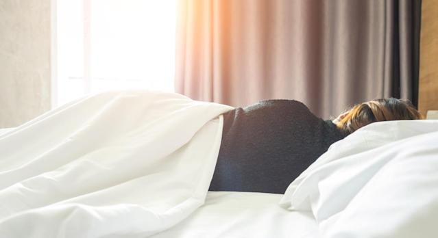 A nationwide study of British couples revealed that those who sleep apart have more sex. [Photo: Getty]