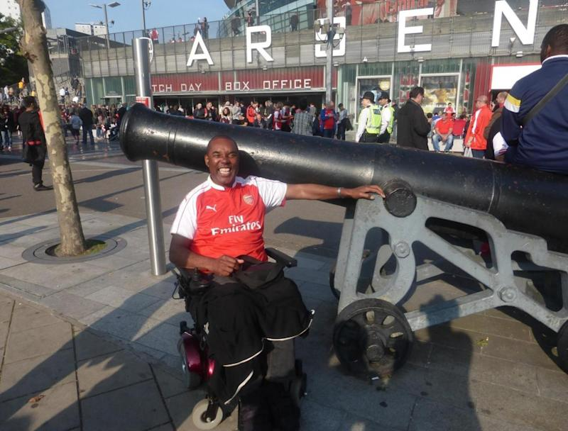 Mr Goode is an avid Arsenal fan with membership to Emirates stadium
