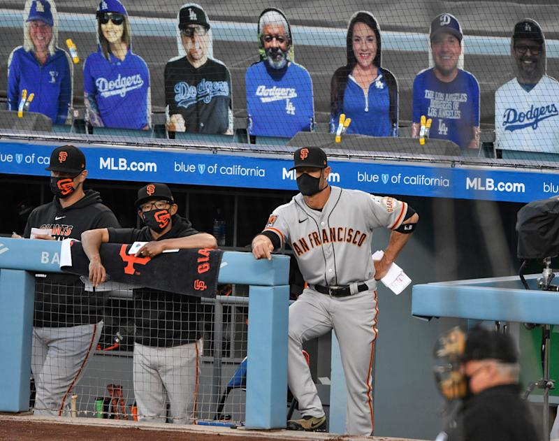 As they try and make Dodgers squirm, Giants deal with their own discomfort