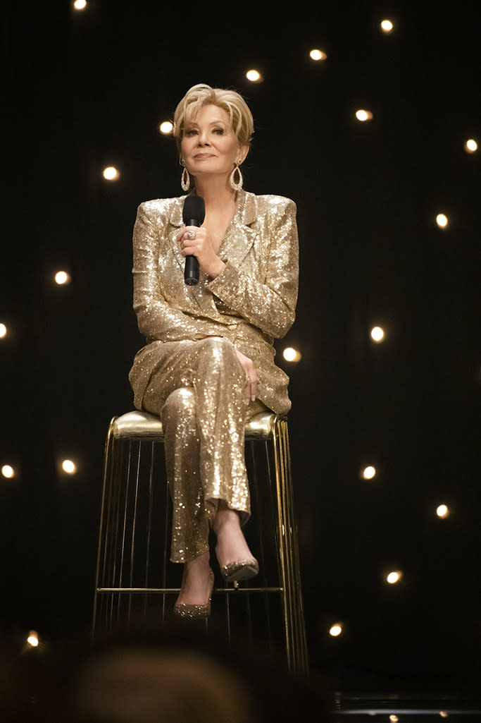 """Jean Smart is nominated for Lead Actress in Comedy Series at the 2021 Emmys for her role in """"Hacks."""" - Credit: Courtesy of HBO Max"""