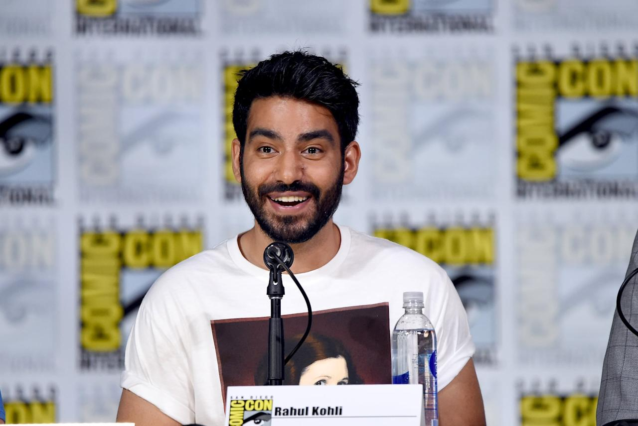"""<p>Rahul <a href=""""https://www.thecut.com/2020/10/bly-manors-rahul-kohli-is-hollywoods-new-bad-boy.html"""" target=""""_blank"""" class=""""ga-track"""" data-ga-category=""""internal click"""" data-ga-label=""""https://www.thecut.com/2020/10/bly-manors-rahul-kohli-is-hollywoods-new-bad-boy.html"""" data-ga-action=""""body text link"""">credits the <strong>Star Wars</strong> franchise for getting him interested in acting</a> as a kid. According to The Cut, his obsession started when <a href=""""https://www.thecut.com/2020/10/bly-manors-rahul-kohli-is-hollywoods-new-bad-boy.html"""" target=""""_blank"""" class=""""ga-track"""" data-ga-category=""""internal click"""" data-ga-label=""""https://www.thecut.com/2020/10/bly-manors-rahul-kohli-is-hollywoods-new-bad-boy.html"""" data-ga-action=""""body text link"""">he got the <strong>Star Wars</strong> trilogy for his 11th birthday</a>. He even went so far as to try to break into the <strong>Attack of the Clones</strong> set to deliver a letter to director George Lucas, asking to be an extra. Although he never made it past the studio's parking lot, his passion fueled him to start looking for onscreen roles, and he never looked back.</p>"""